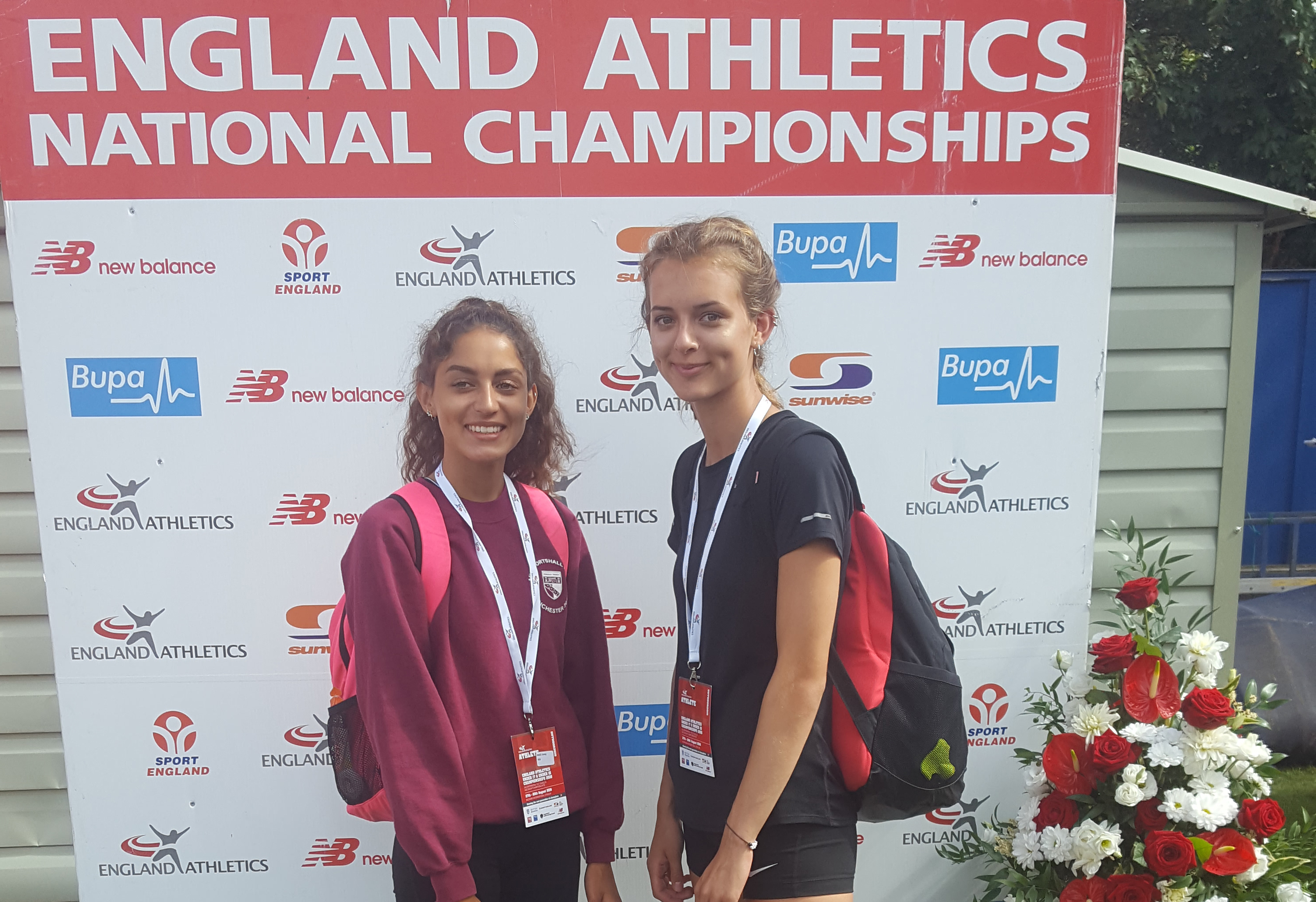 CoNAC Athletes Competed in the England Athletics Under 17 and Under 15 Championships