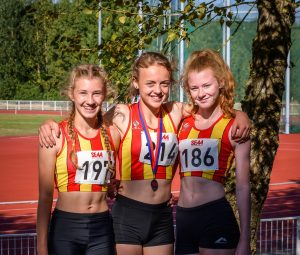 Promising performances from CoNAC at South of England U15/U17 Championships in Ashford